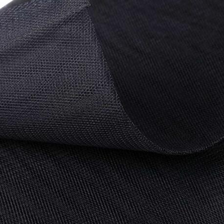 Tissu tulle noir au mètre