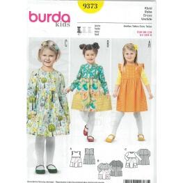 Patron robe enfant - Burda 9373
