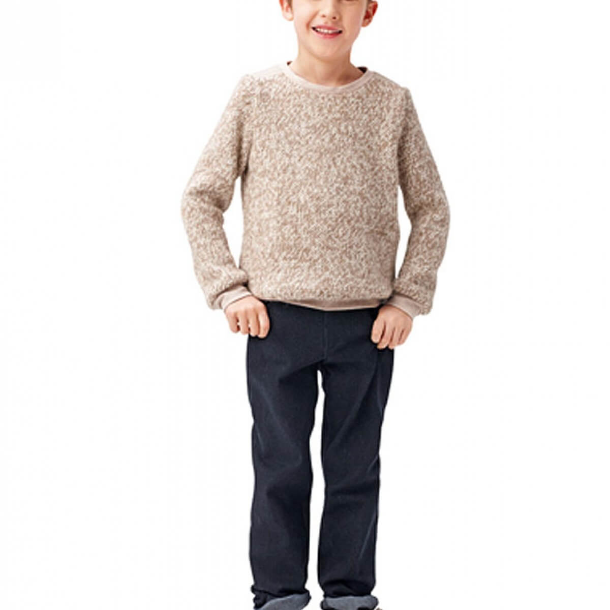 Patron sweat shirt enfant gar on burda 9407 mercerie car fil - Enfant garcon ...