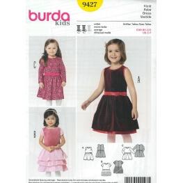 Patron robe enfant - Burda 9427