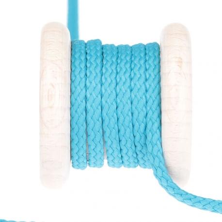 Cordon uni au mètre - Bleu turquoise