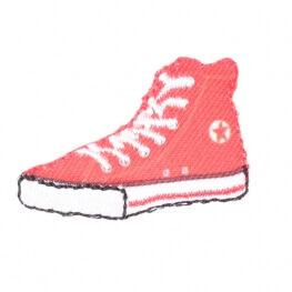 """Ecusson basket rétro """"converse"""" - Rouge"""