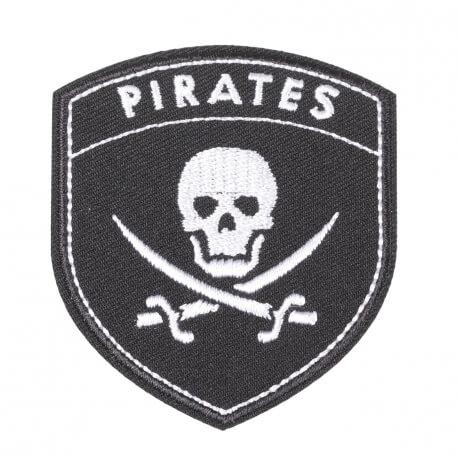 Ecusson blason pirates & tête de mort