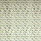 Tissu coton cretonne scandinave - Bleu & vert
