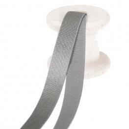 Elastique lingerie pour bretelles au mètre - Gris