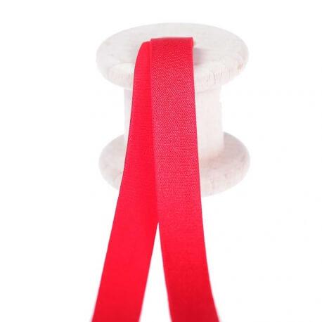 Elastique lingerie pour bretelles au mètre - Rouge