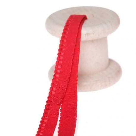 Elastique lingerie d'encolure au mètre - Rouge