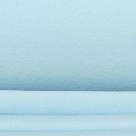 Tissu polaire uni - Bleu ciel