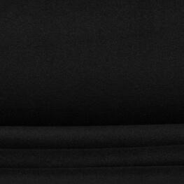 Tissu polaire uni - Noir