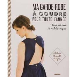 Livre couture - Ma garde-robe à coudre pour toute l'année