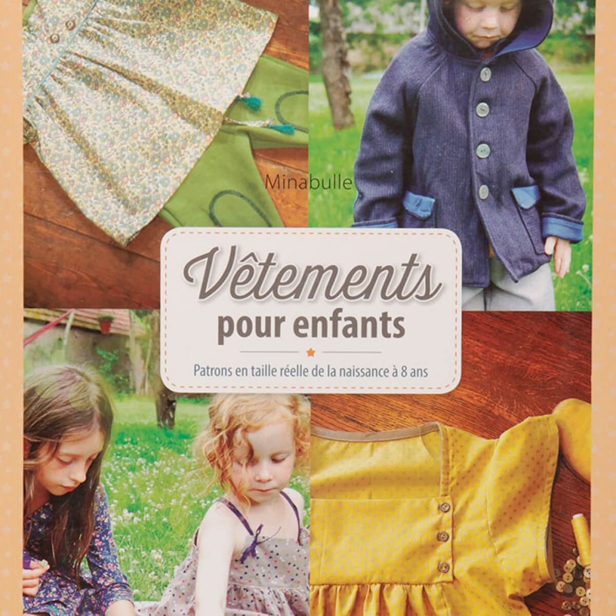 livre couture v tements pour enfants mercerie car fil. Black Bedroom Furniture Sets. Home Design Ideas