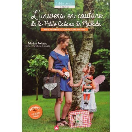 Livre couture - L'univers en couture de la petite cabane de Mavada