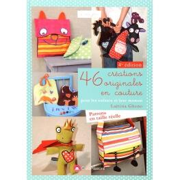 Livre couture - 46 créations originales en couture pour les enfants et leur maman