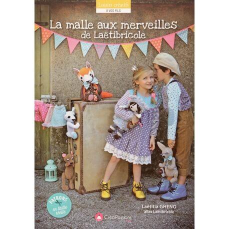 Livre couture - La malle aux merveilles de Laëtibricole