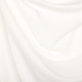 Tissu nicki velours - Blanc cassé