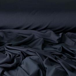 Tissu lycra uni - Bleu marine