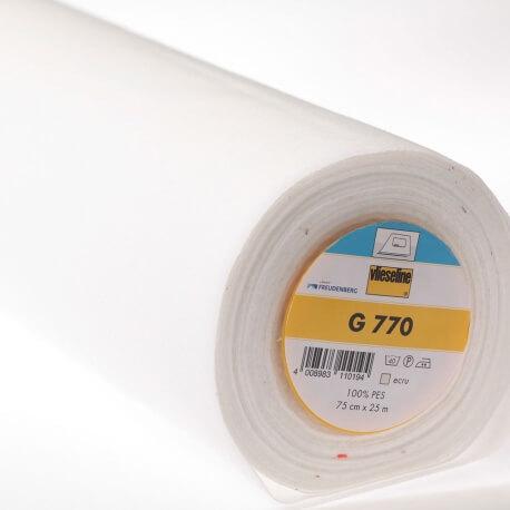 G 770 Entoilage écru tissé thermocollant - Vlieseline®
