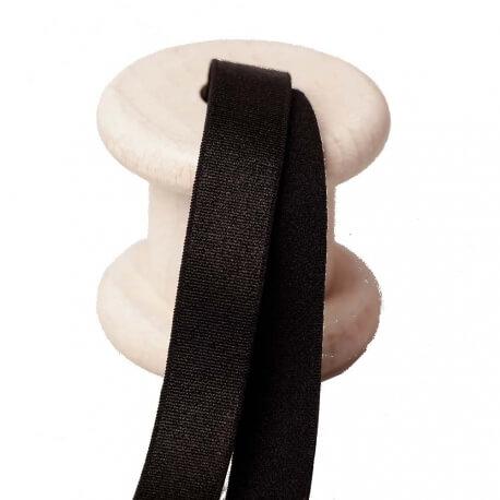 Elastique lingerie pour bretelles au mètre - Noir