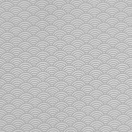 Tissu coton cretonne vague japonaise - Gris clair