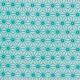 Tissu coton cretonne étoiles asanoha - Ivoire & vert aqua