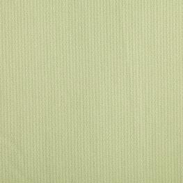 Tissu piqué de coton uni fine rayure - Vert