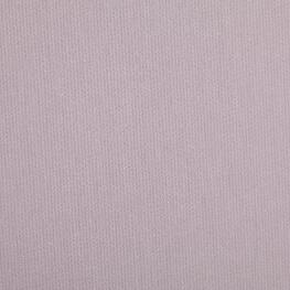 Tissu piqué de coton uni fine rayure - Gris