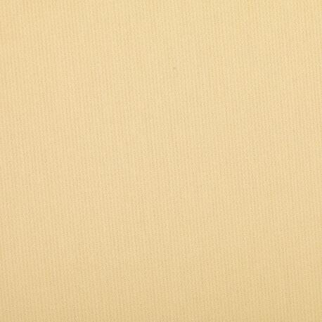 Tissu piqué de coton uni fine rayure - Jaune