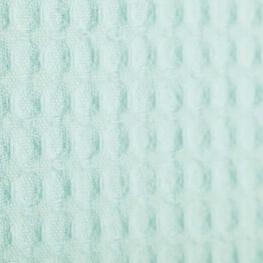 Tissu nid d'abeille - Vert d'eau