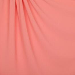 Tissu crêpe stretch uni - Rose pêche