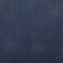 Tissu chambray viscose uni - Bleu brut
