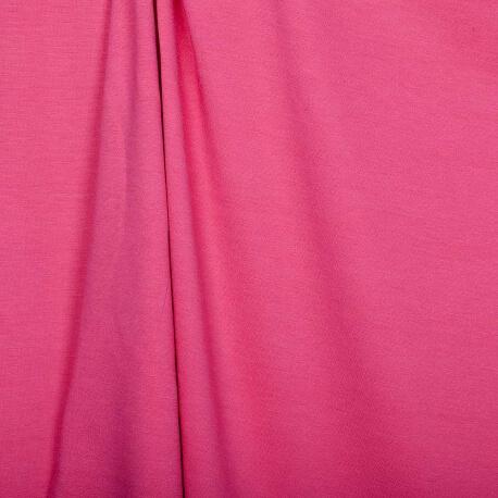 Tissu jersey lourd uni - Rose paradise