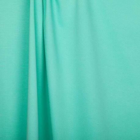 Tissu jersey lourd uni - Vert menthe