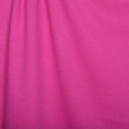 Tissu jersey lourd uni - Rose fuchsia