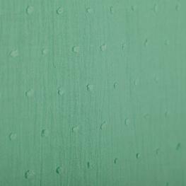 Tissu coton plumetis uni - Vert d'eau