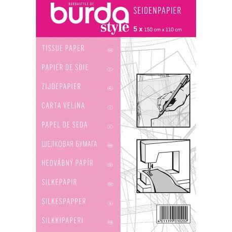 Papier de soie pour patron - Lot de 5 feuilles - Burda
