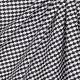 Tissu coton fantaisie écaille - Noir
