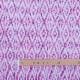 Tissu coton fantaisie batik - Rose