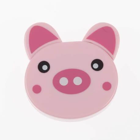 Mètre ruban enrouleur rétractable fantaisie - Cochon
