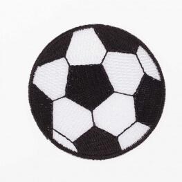 Ecusson ballon de football - 5,5cm