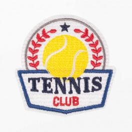 Ecusson tennis club