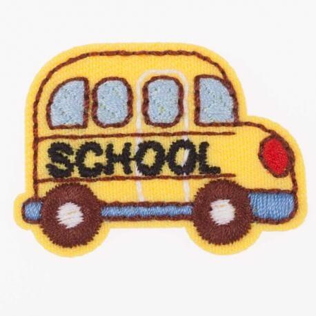 Ecusson bus school