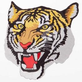 Ecusson tête de tigre - Grand