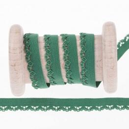 Elastique dentelle lingerie au mètre - Vert