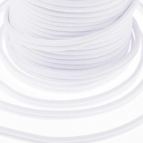 Galon passementerie double cordon - Blanc