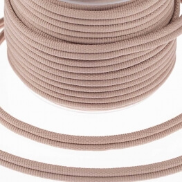 Galon passementerie double cordon - Taupe