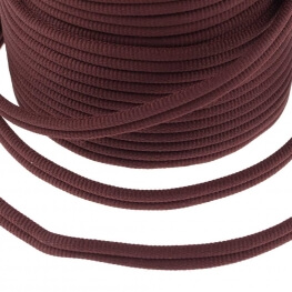 Galon passementerie double cordon - Marron