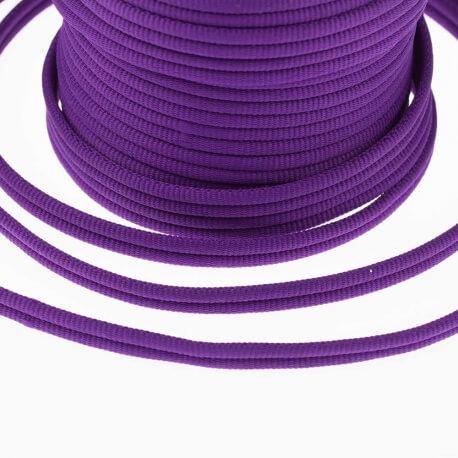 Galon passementerie double cordon - Violet