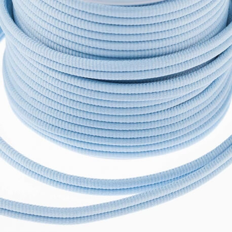Galon passementerie double cordon - Bleu ciel