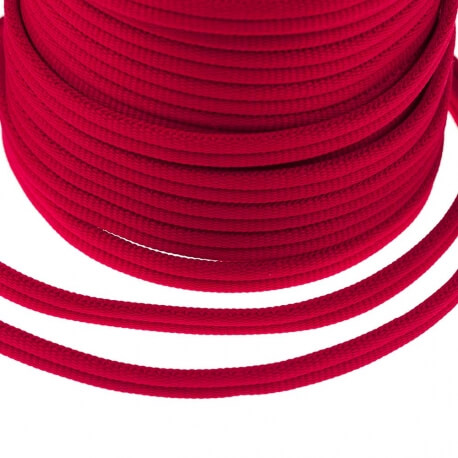 Galon passementerie double cordon - Rouge