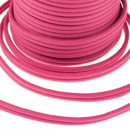 Galon passementerie double cordon - Rose fuchsia